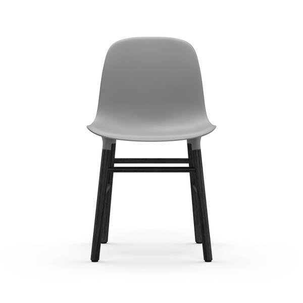 Bilde av Form Chair Black Oak - Grey