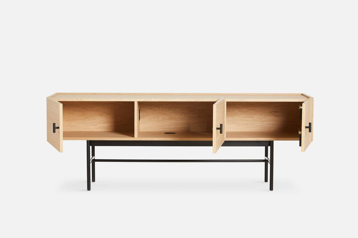 Array low sideboard (150 cm) - Eik