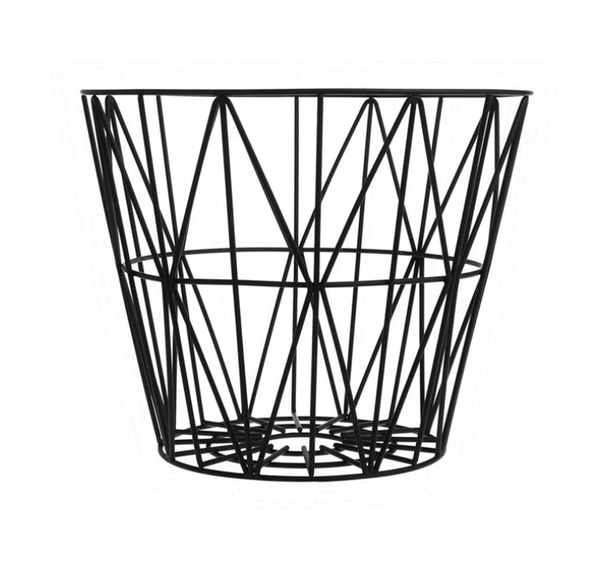 Bilde av Wire Basket Medium - Svart