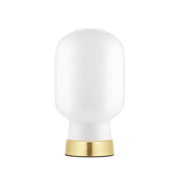 Bilde av Amp bordlampe - Hvit/Messing