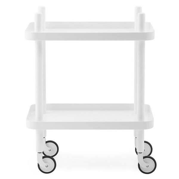 Bilde av Block bord - Hvit