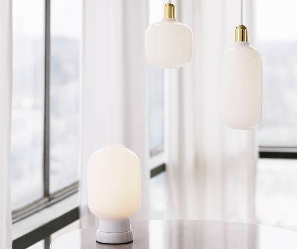 Bilde av Amp bordlampe - Hvit/Hvit